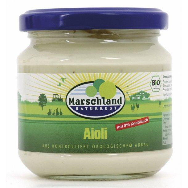 Aioli Marschland 180 g - Økologisk Mindst holdbar til 24022018
