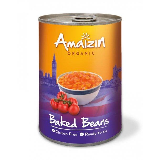 Baked beans 400 g - Økologisk