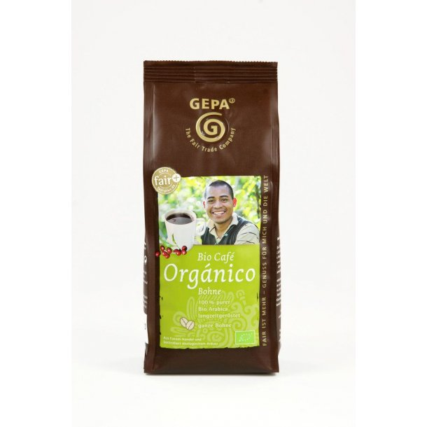 Kaffe hele bønner Bio café organico 250 gram - Økologisk