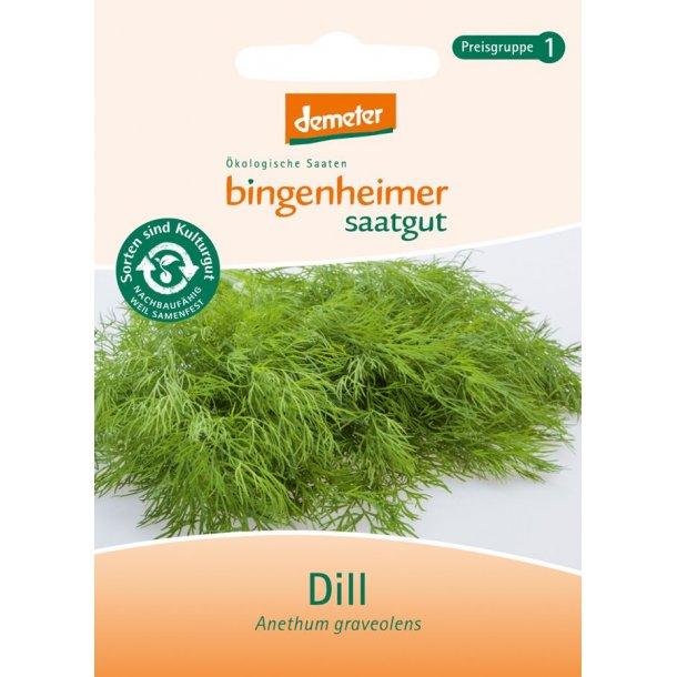 Dild frø 1 brev - Biodynamisk