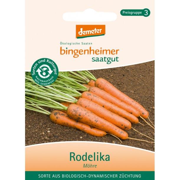 Gulerodfrø (Rodelika) 1 brev - Biodynamisk