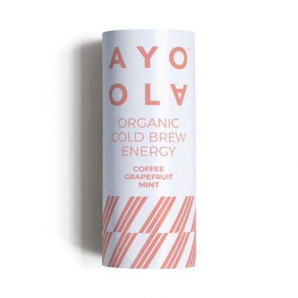 Grape og mynte energidrik Ayoola - økologisk M.H.T. 07. maj 2020
