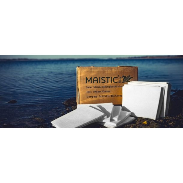 Karklude 5 stk. mikroplastfri Maistic - Miljøvenlig