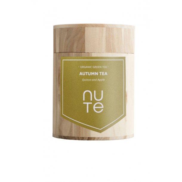 NUTE Green Autumn (Æble og kvæde) 100 gram i flot trææske - økologisk