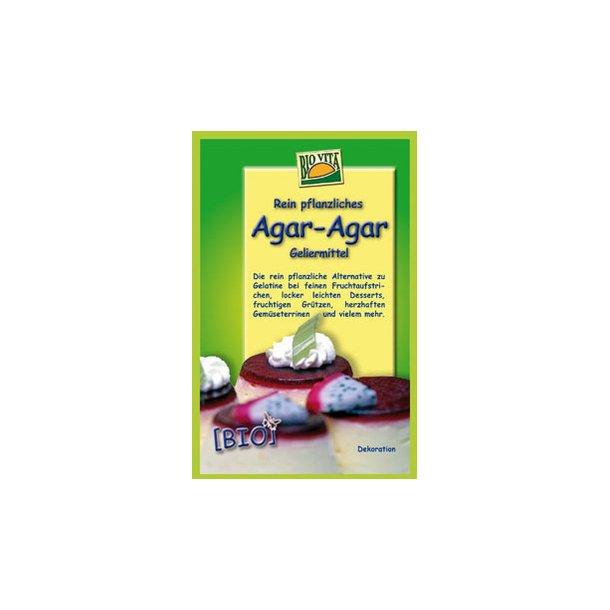 Agar-agar 20g 100% vegetabilsk gelantine - Økologisk
