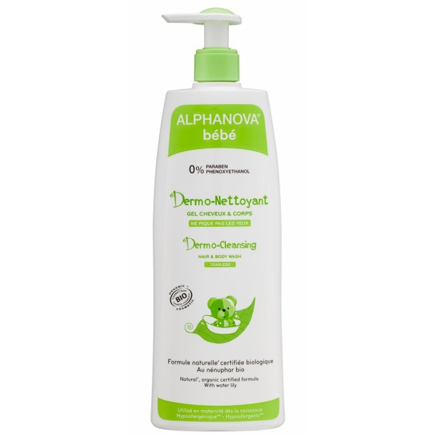 Alphanova Bebe Dermo Cleansing Hair and Body Wash 500 ml Bio