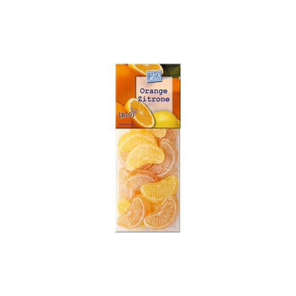 Bolcher citron og appelsin 75 g - Økologisk
