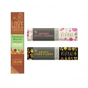 Chokolade og myslibarer