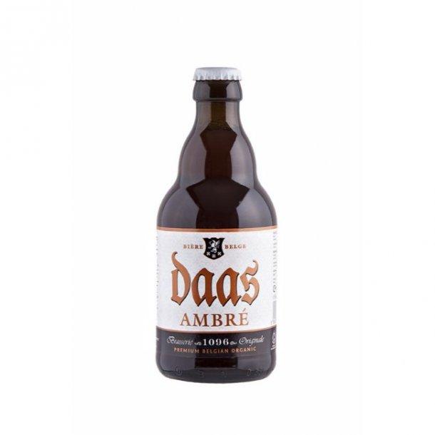 Glutenfri øl (Daas Ambré) 330 ml - Økologisk