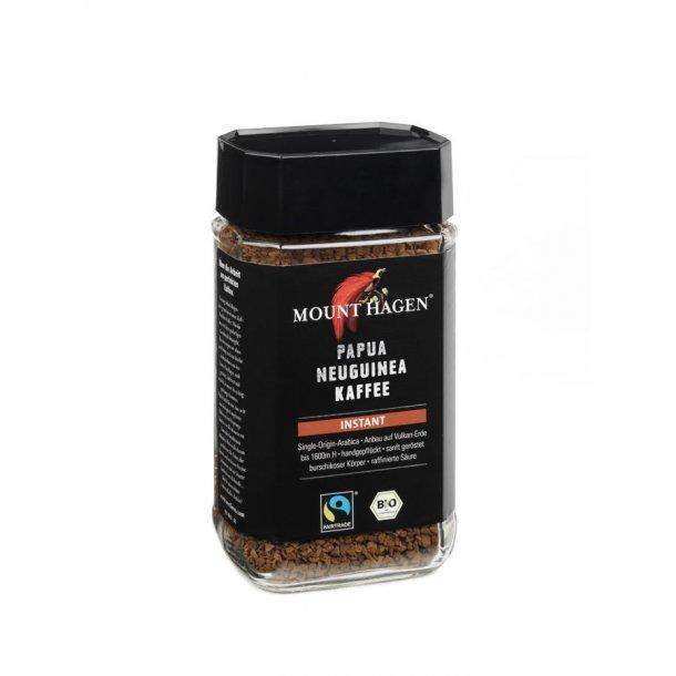 Mount Hagen Papua Ny Guinea Instant Kaffe 100 gram - Økologisk
