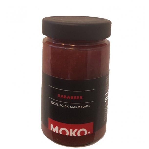 MOKO rabarbermarmelade 340 gram - økologisk