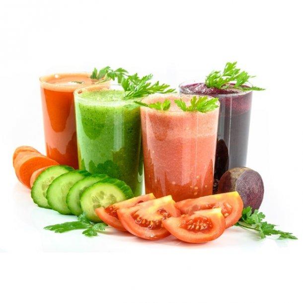 Slowjuicekasse lav dine egne juices - Økologisk