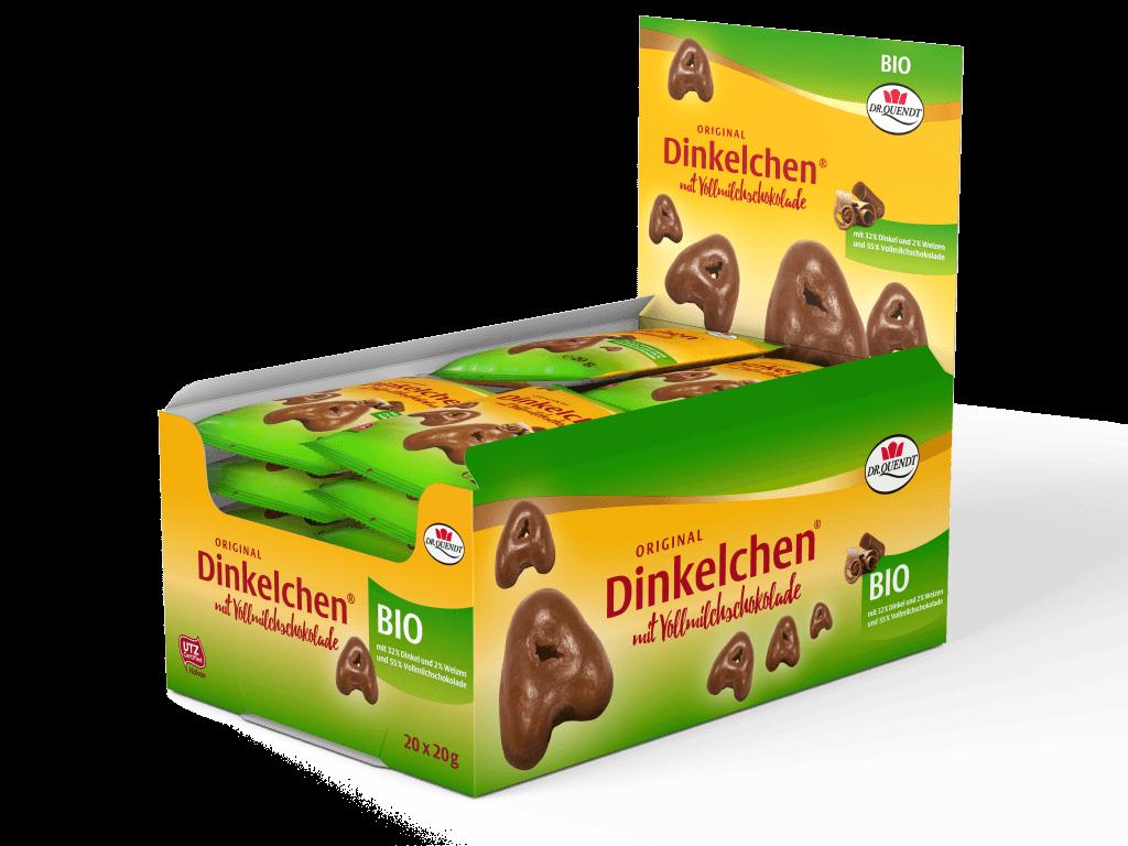 Økologisk Speltkiks med chokolade 20 gram - Økovejen