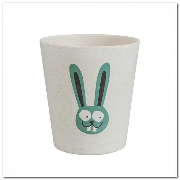 Tandkrus med kanin motiv - kompostbar